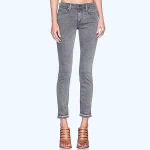 Joe's The Markle Dust Dye Skinny Ankle Gray Jeans